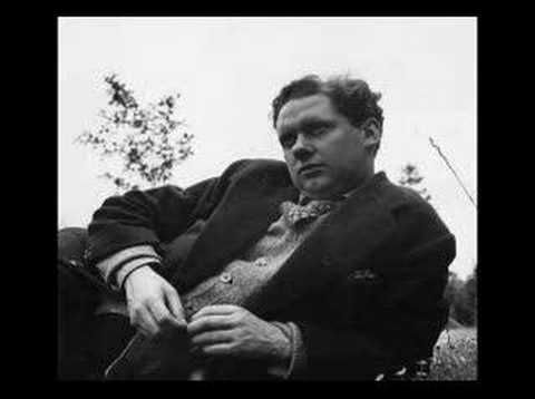 """Dylan Thomas recites, """"Do Not Go Gentle Into That Good Night"""""""