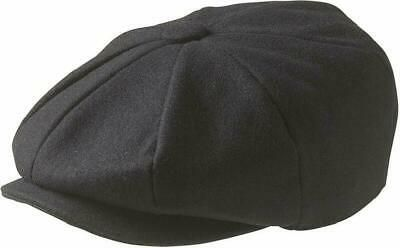 Peaky Blinders Men'S 8 Piece 'Newsboy' Style Flat Cap Wool #fashion #clothing #s…