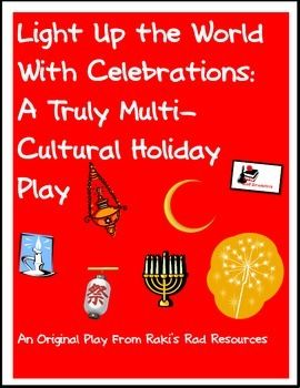Free download - Multicultural holiday play that explores light as a common theme among winter holidays around the world.