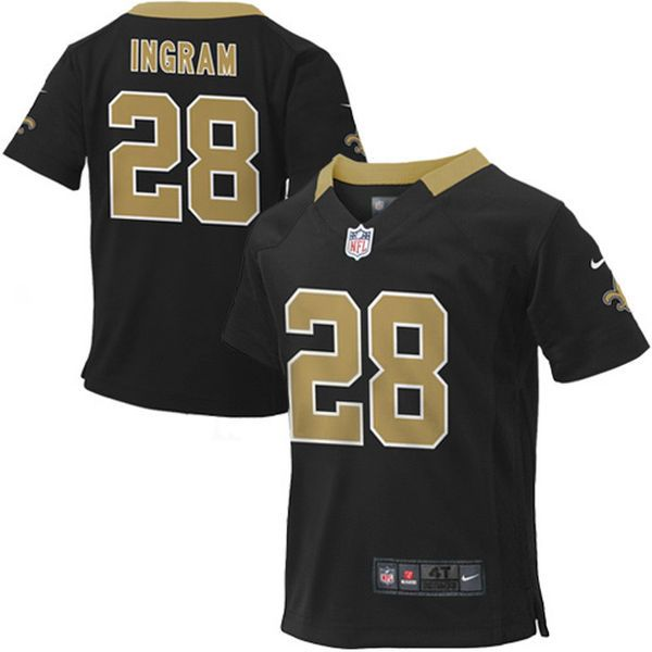 Mark Ingram New Orleans Saints Nike Toddler Game Jersey – Black - $44.99