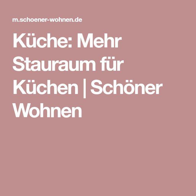 Küche: Mehr Stauraum für Küchen | Schöner Wohnen