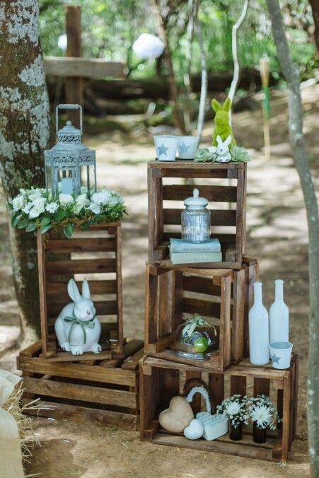 Decorative crates