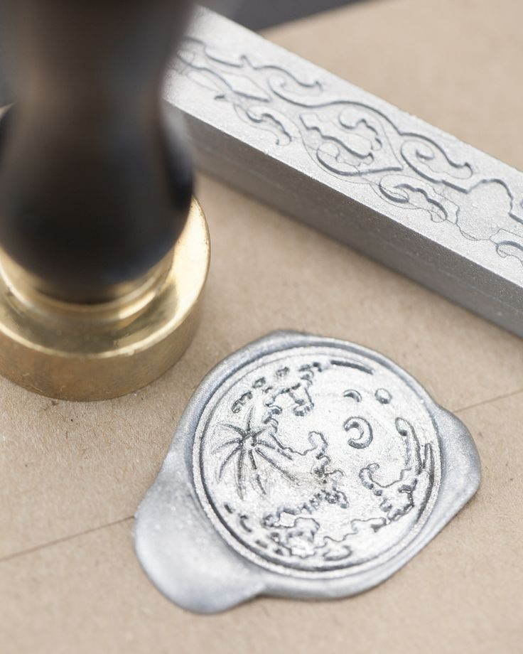 Silver Moon Wax Seal Kit - Cognitive Surplus - 1