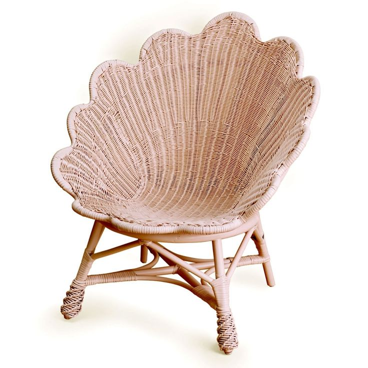 The Venus Chair-it reminds me of a seashell, cute for a mermaid theme room.