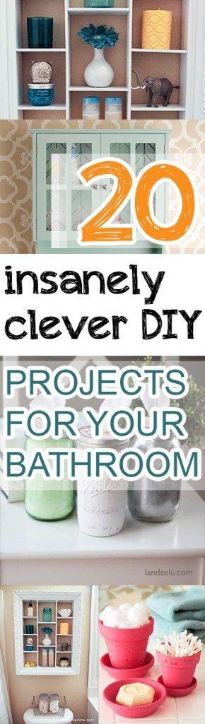 Bathroom projects. bathroom hacks. bathroom cleaning. bathroom organization. popular pin. small space organization.