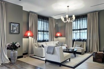 Contemporary Living Room Design Ideas, Pictures, Remodel and Decor