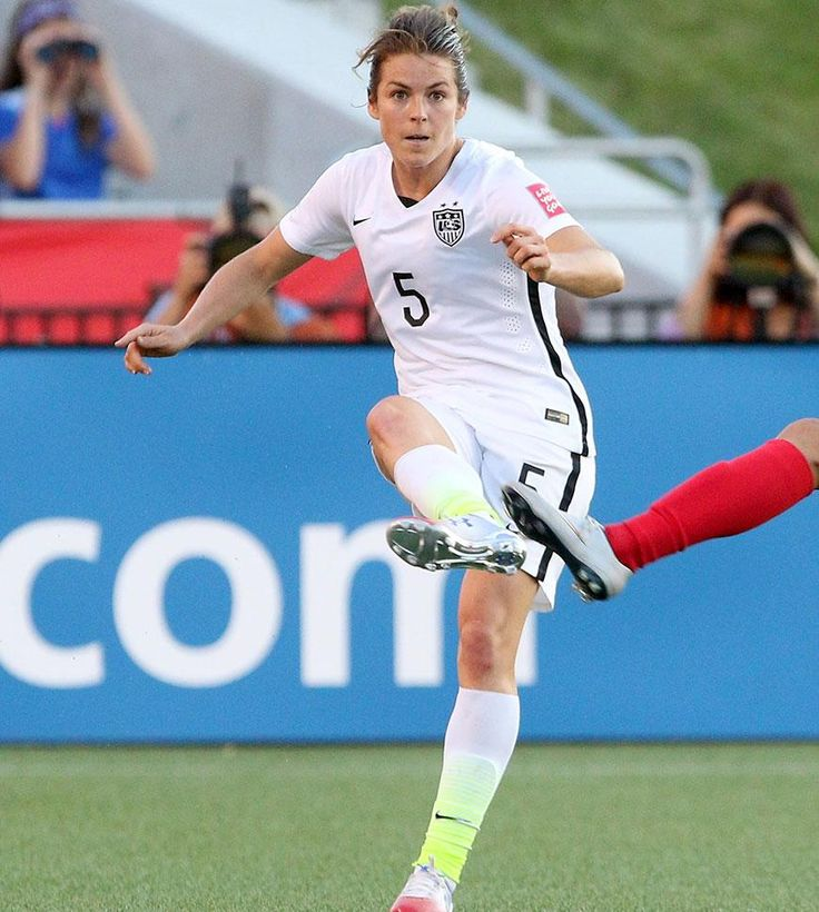 This Superstar Soccer Player Shows Us How To #PlayLikeAGirl (Bloody Nose and All) - SELF