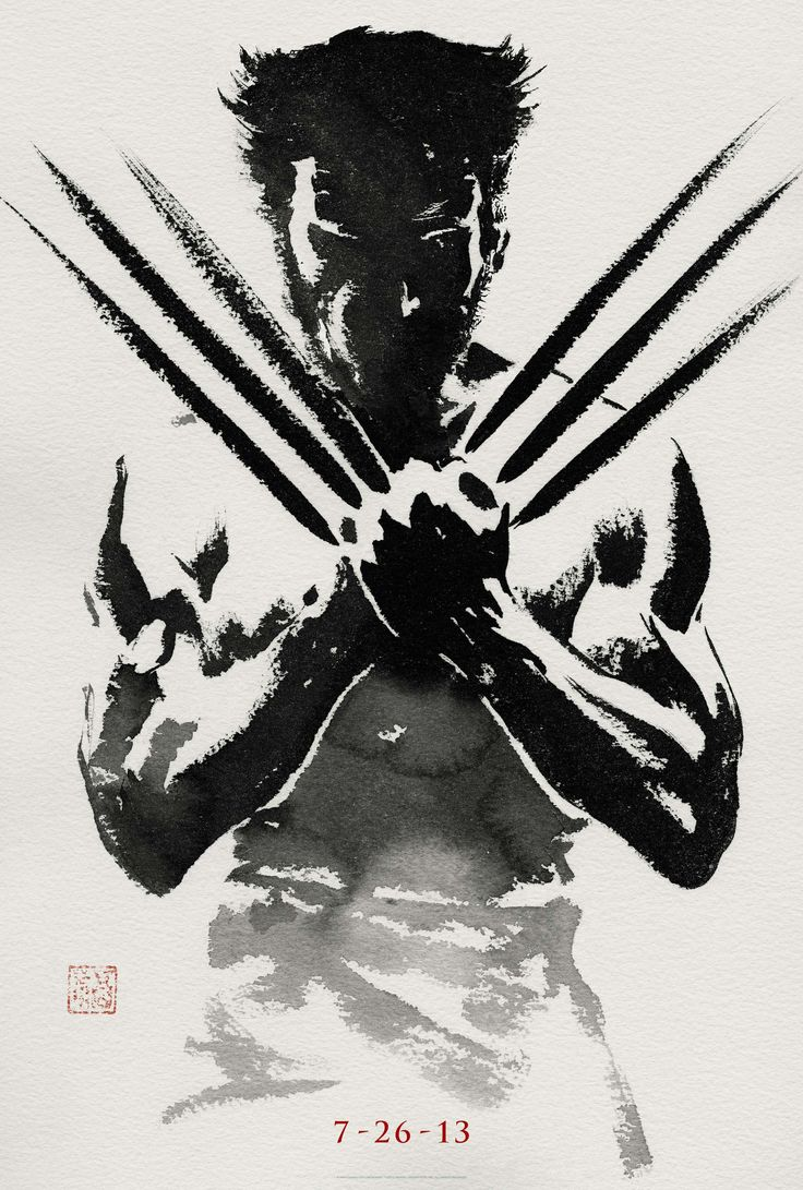I Found a high quality image of The Wolverine Teaser poster - Imgur