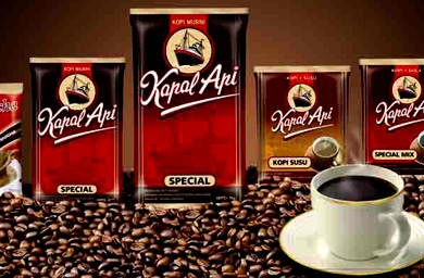 kopi kapal api, indonesia coffee product