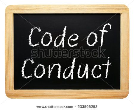 Dating code of conduct