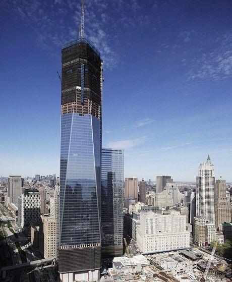 Θέα από την κορυφή του κόσμου: Το νέο WRC γίνεται το ψηλότερο κτίριο της Νέας Υόρκης