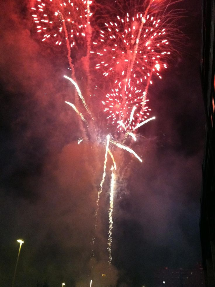 Fourth of July - outdoor celebrations and  fireworks festivities!