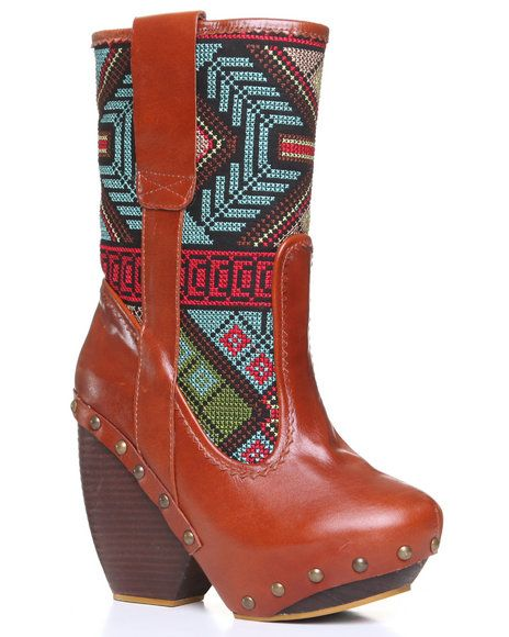 Find Irregular Choice Mandarim Ikat Print Boot Women's Footwear from DJP OUTLET & more at DrJays. on Drjays.com