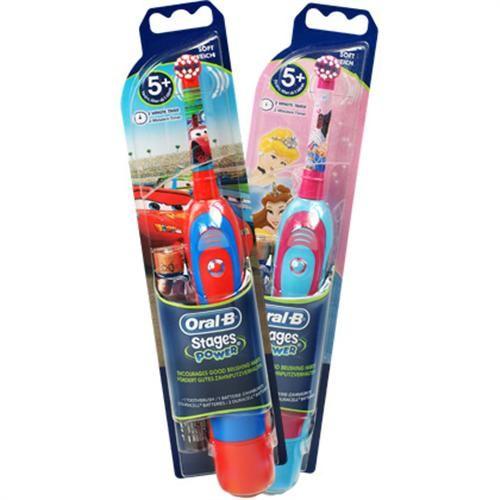 Bateryjne elektryczne szczoteczki do zębów dla dzieci z Autami i księżniczkami: http://spadental.pl/stages-power-oral-b-auta-szczoteczka-elektryczna-dla-dzieci-874
