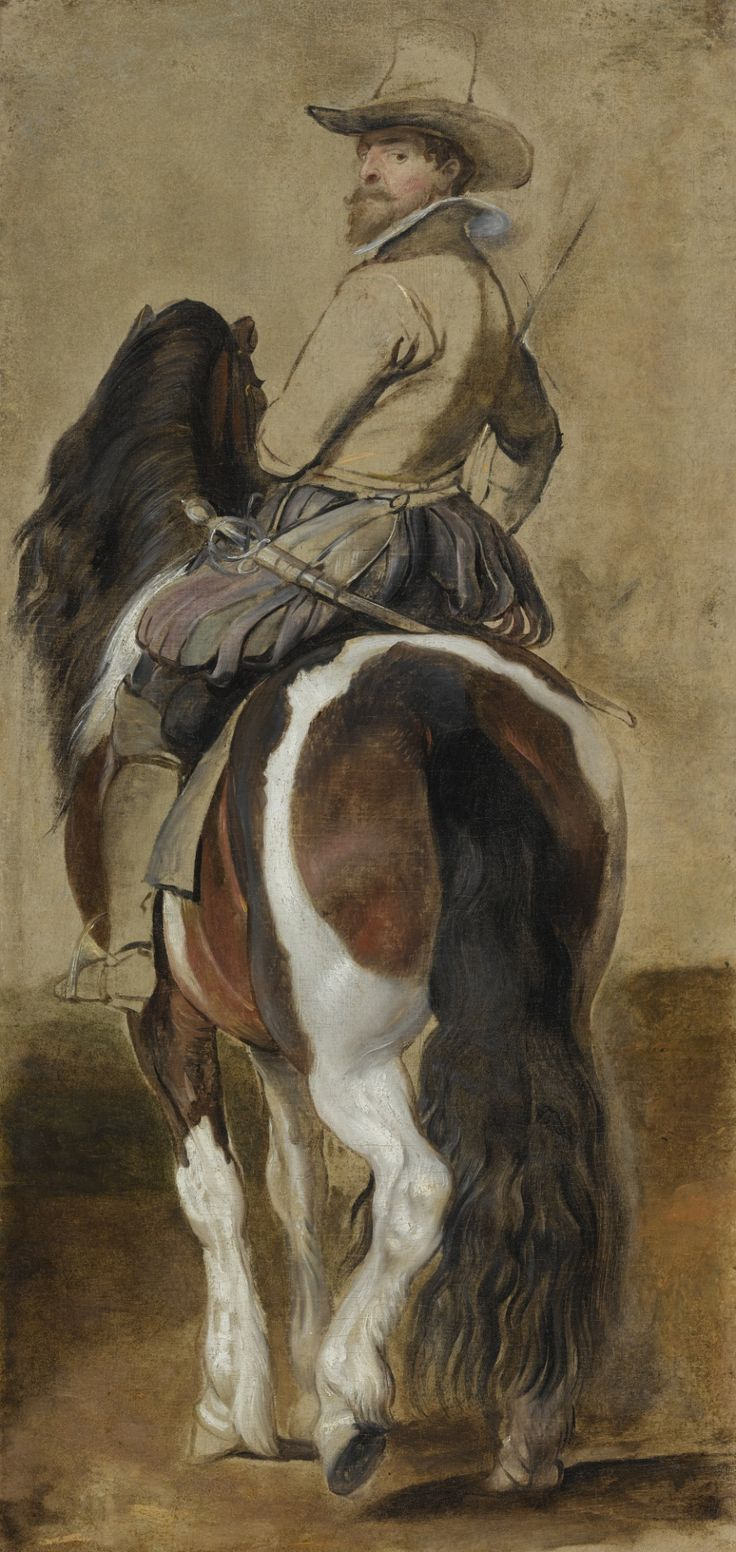 Study of a Horse with a Rider, Sir Peter Paul Rubens