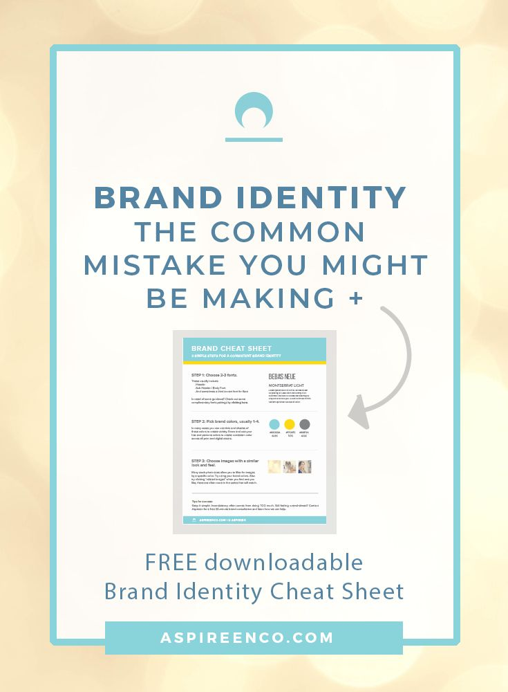 Brand Identity The Common Mistake You Might Be Making Brand Identity Branding Your Business Blog Branding