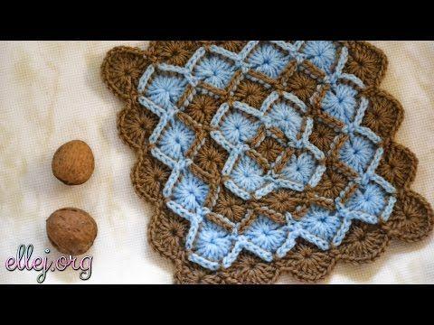 Баварское вязание крючком. Bavarian Crochet Stitch. - YouTube