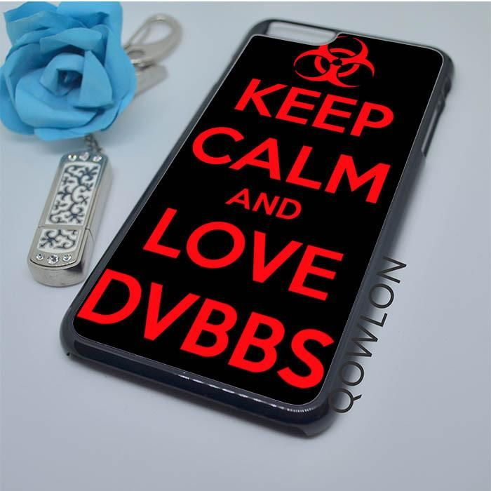 Keep Calm and Love DVBBS Red iPhone 6 Plus | 6S Plus Case