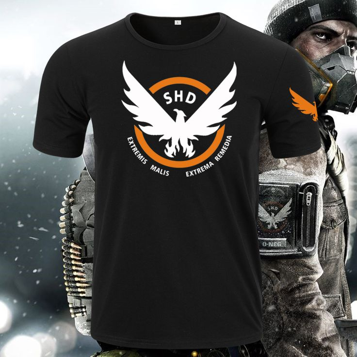 >> Click to Buy << [XHTWCY]Hot New The Division Tom Clancy Steel Cotton T-shirt Game Animation Tees Digital Direct Injection Ventilation #Affiliate