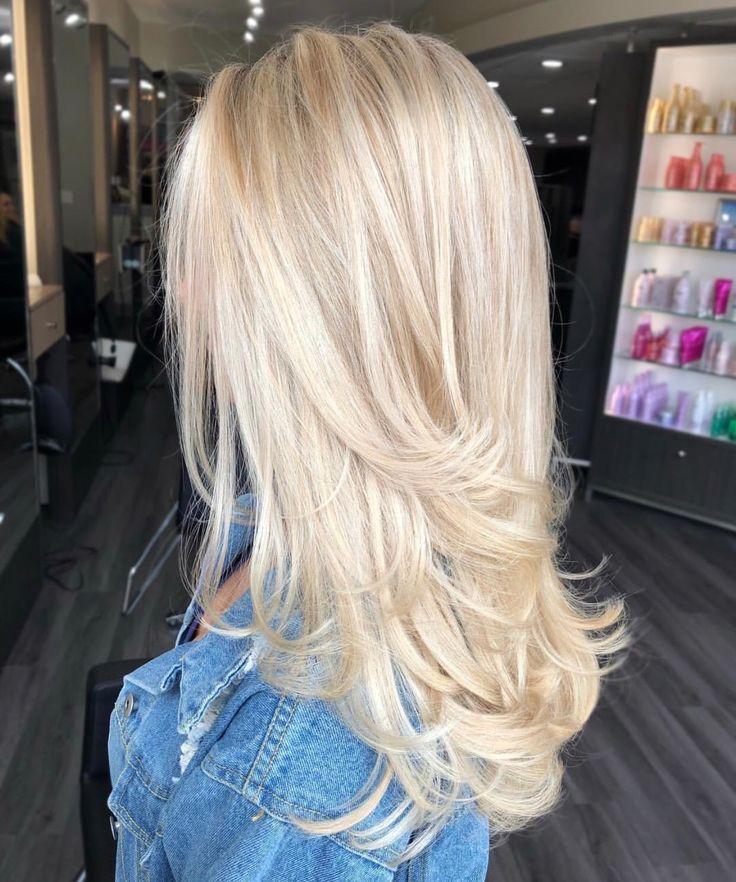 Finde Die Schönsten Frisuren Für Blondes Haar Von Mittellang