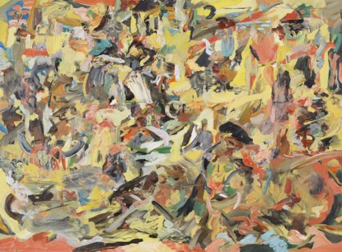 tndra:  Cecily Brown Even the ducks can groove, 2013 Oil on linen