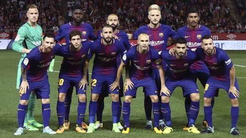 Daftar Nama Pemain Barcelona Terbaru 2017-2018 (Skuad Lengkap)