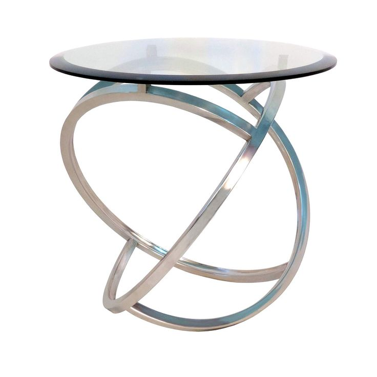 Curved Side Table By Horizon