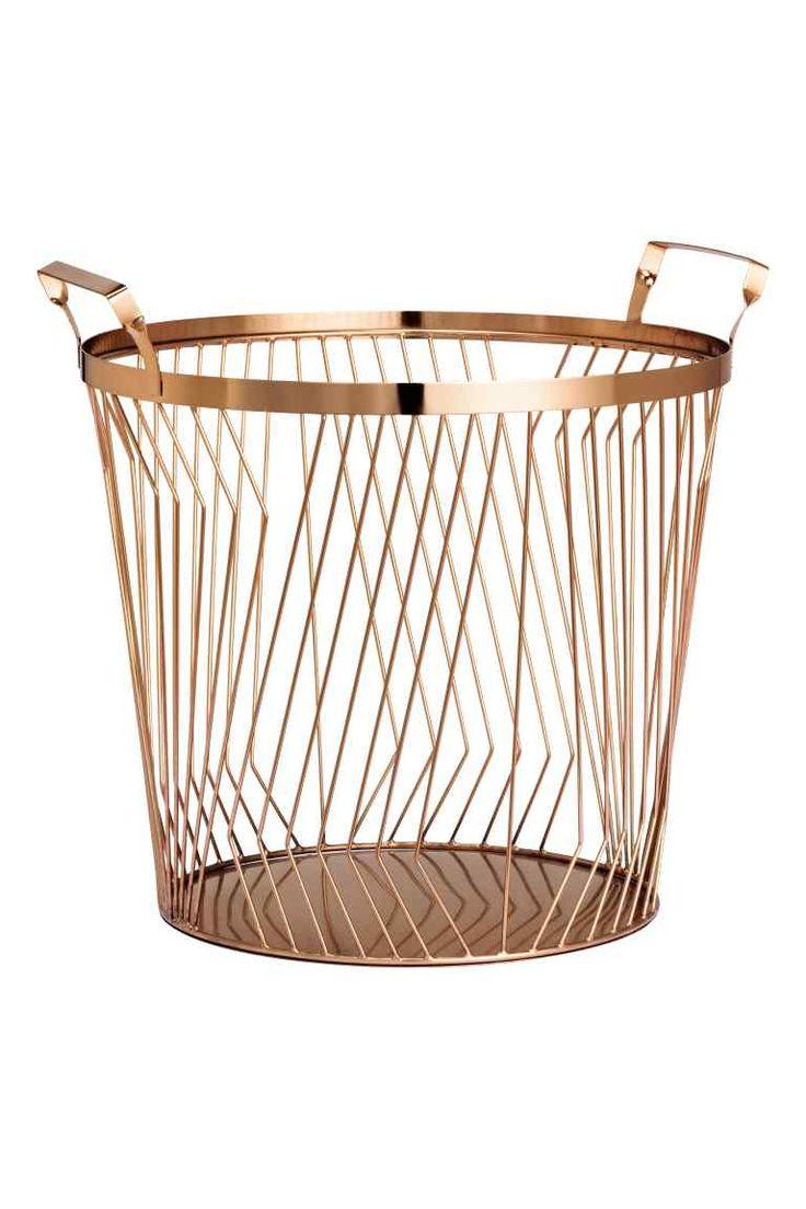 Cesto Grande Metálico. Organisation IdeasWire BasketsStorage ...