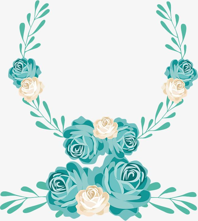 Cartoon Hand Painted Wedding Flower Cartoon Hand Drawing Wedding Flower Decorative Pattern Wedding Decorations Png Transparent Clipart Image And Psd File For Mint Green Flowers Hipster Wedding Flowers Trendy Flowers