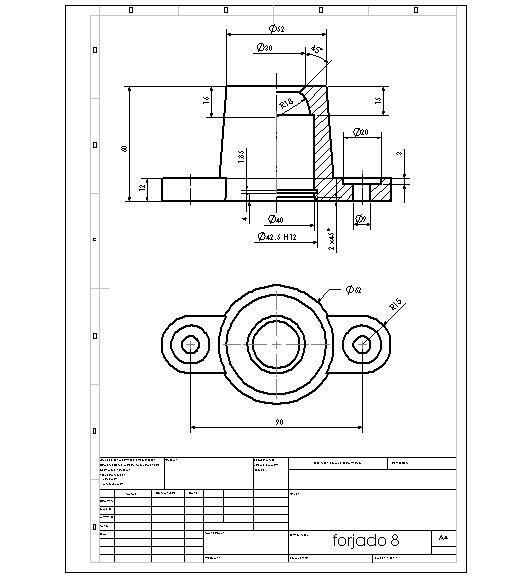autocad 2d drawing mechanical pdf