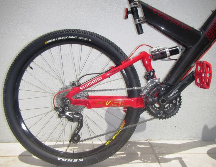RISSE Racing - Astro5 damper brings life back to the rear end of the 1998 Cannondale Super V Raven 3000.