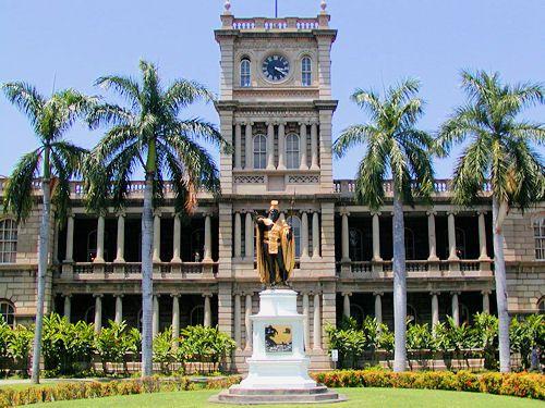 King Kamehameha: Ali'iolani Hale
