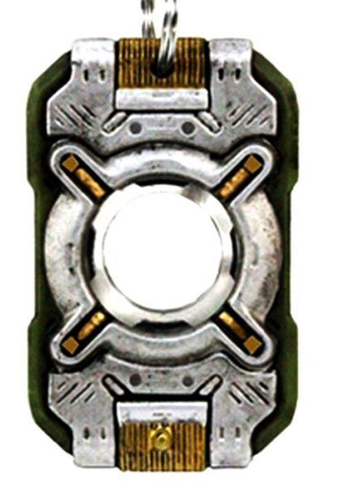 Collectible Key Ring Halo 4 Cortana Replica Chip Light Up Keychain
