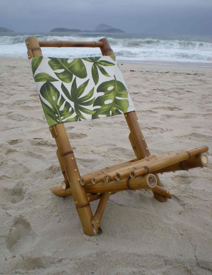 bamboo beach chair - Bamboo Arts and Crafts Gallery