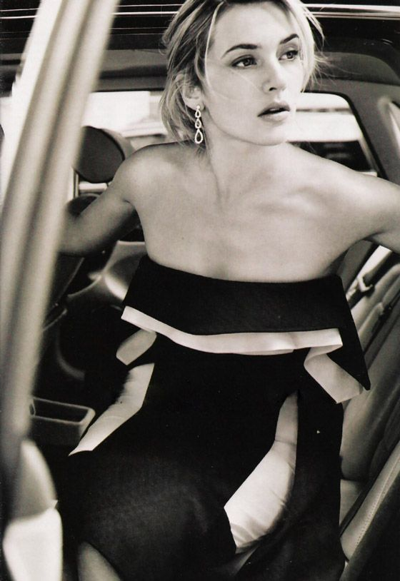 Kate Winslet, by Mario Testino