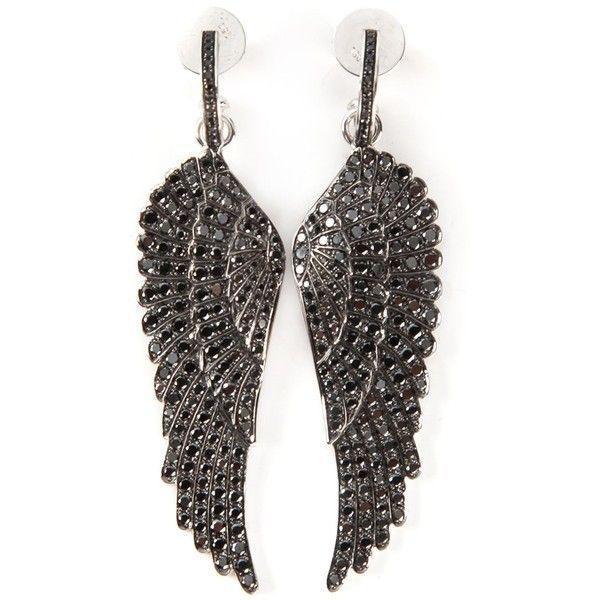 Pandora Jewelry 60 Off Visit Garrard Diamond Wing Earrings 14152 Liked On Polyvore F Diamond Fashion Jewelry Diamond Post Earrings Wing Earrings