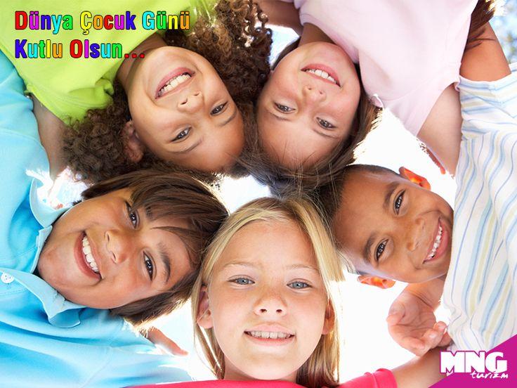 Bugün Dünya Çocuk Günü, tüm çocuklarımız için sevgi dolu bir dünya diliyoruz!   #mngturizm   #senyeterkitatiliste