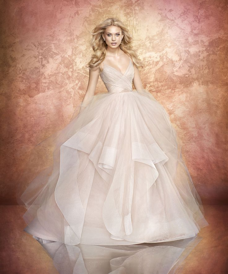 New at J.J.Kelly Bridal!! Moet stardusted tulle bridal ball gown, crisscross draped sweetheart bodice and low scoop back, cascading skirt with horsehair trim and sparkle net accent. Also available in Ivory and Rosé.  Call J.J. Kelly Bridal at (405)752-0029 to make your try on appointment.