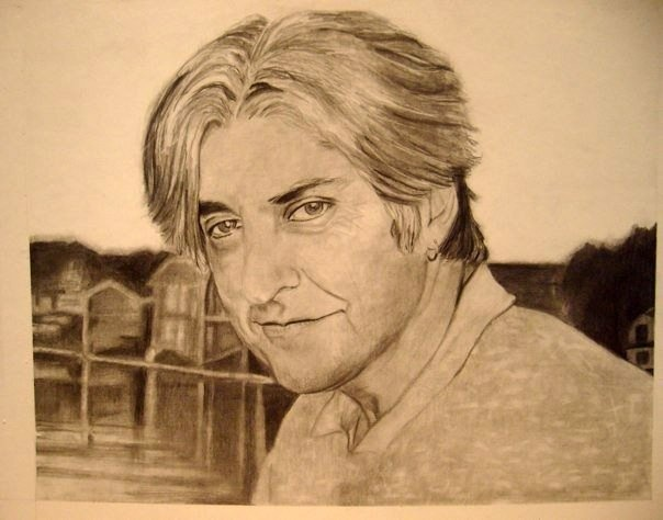 Rob, Mahone Bay, 1997  Original drawing by Tammy Anne Gelfand.  Copyright (c) 2008-2102.  All Rights Reserved.