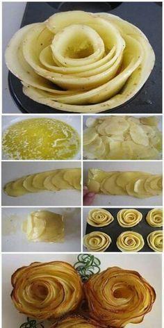 rose di patate