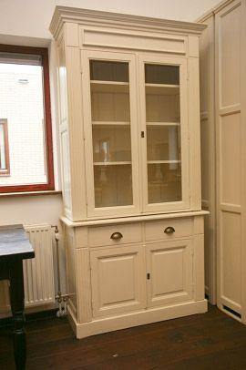 Assietes 2 deurs Wit www.fairwood.nl www.servieskasten.nl, www.kasten-outlet.nl