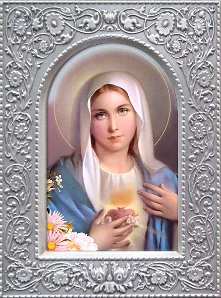 Дева Мария Гальванопластика 95х125 цена - Иконы гальванопластика <- Иконы купить - Каталог   Купить…