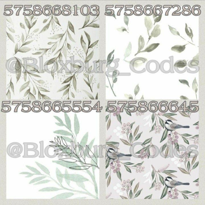Aesthetic Bloxburg Decals Plant Edition Room Decals Vine Decal Code Wallpaper