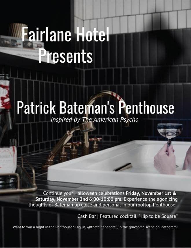Patrick Bateman S Penthouse American Psycho Halloween Celebration Penthouse
