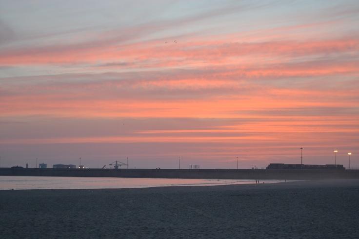 Praia de Matosinhos.
