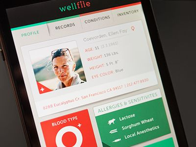 Wellfile Mobile Application  by Catherine Renee Dimalla