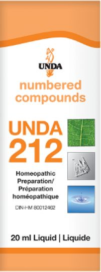 Unda 212 Nervous Stimulant after Exhaustion It is indicated for asthenia caused by certain illnesses that exhaust the individual, difficult convalescence after hemorrhaging, dynamic or depressive nervous states, and following anemia or loss of blood.