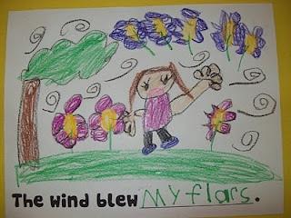 The Wind Blew by Pat Hutchins  (Chalk Talk)