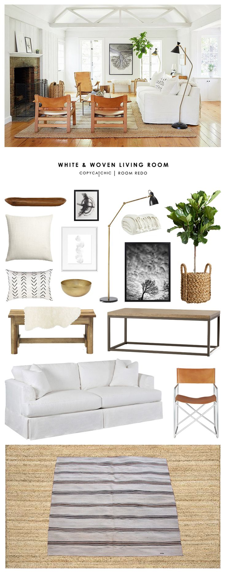 Nice Jute Rug Living Room Embellishment - Living Room Design Ideas ...