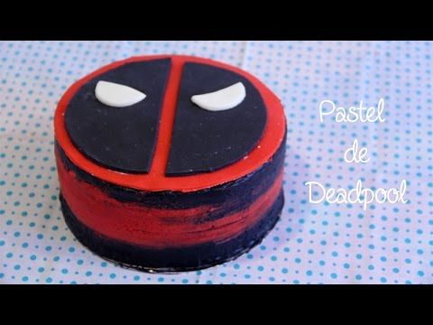 PASTEL DE DEADPOOL FÁCIL// DEADPOOL CAKE - YouTube